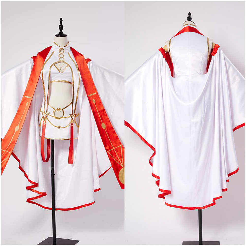 Fate Grand Order Illya Irisviel Costume Outfit Dress of Heaven/'s Will COSplay